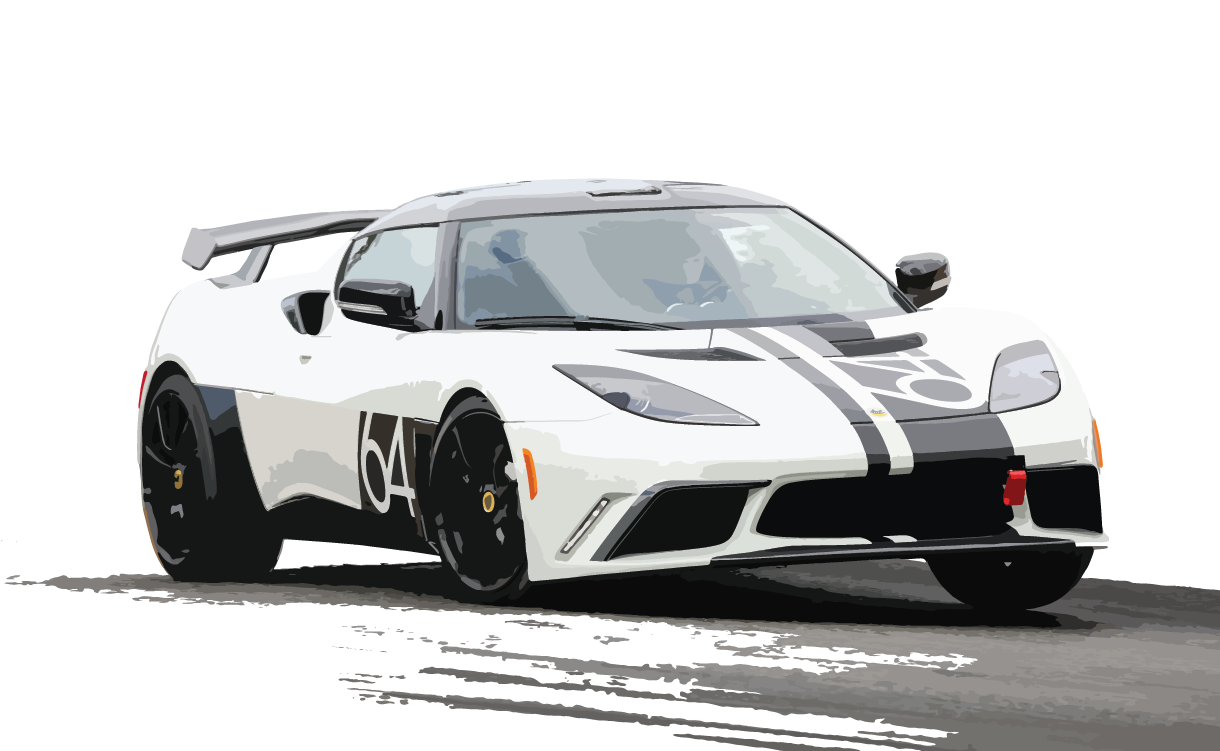 Evora 400 on the track